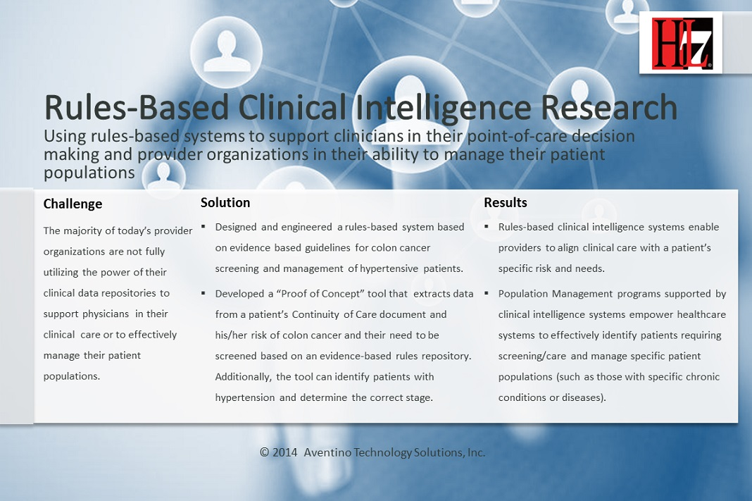Case Study for Clinical Intelligence